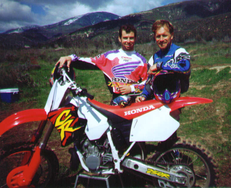 Gary & Jeremy McGrath